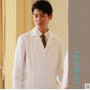 男医生服长袖白大褂美容整形医师制服高端医生工作服